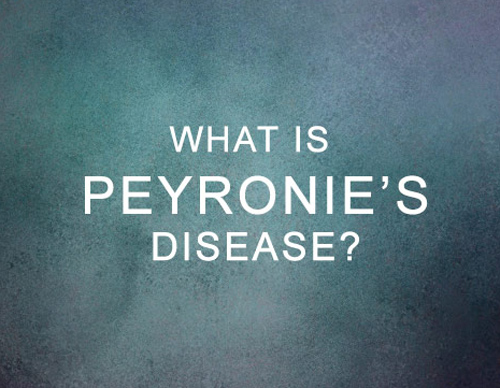 Peyronie's Disease and the P-Shot